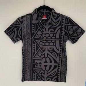 Quiksilver Boys Collard Shirt
